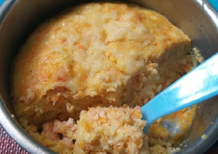 Stemed udang sayur (makanan anak GTM) mpasi