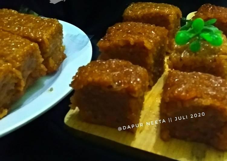 Resep Wajik Ketan Gula Merah Oleh Dapur Neeta Cookpad