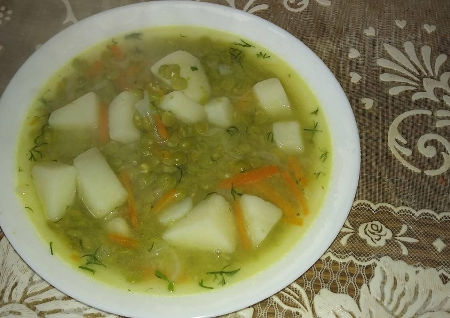 постный гороховый суп пошаговый рецепт с фото фото