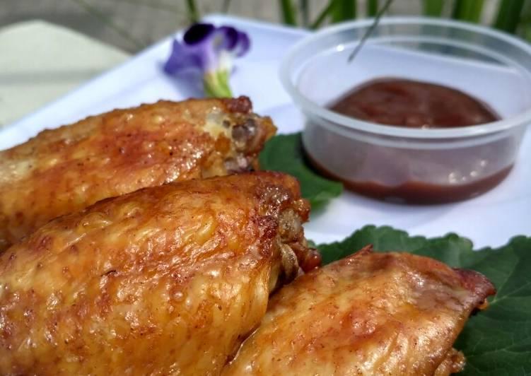 660. Sayap Ayam BBQ Pedas