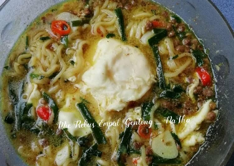 Resep Mie Rebus Empal Gentong murah