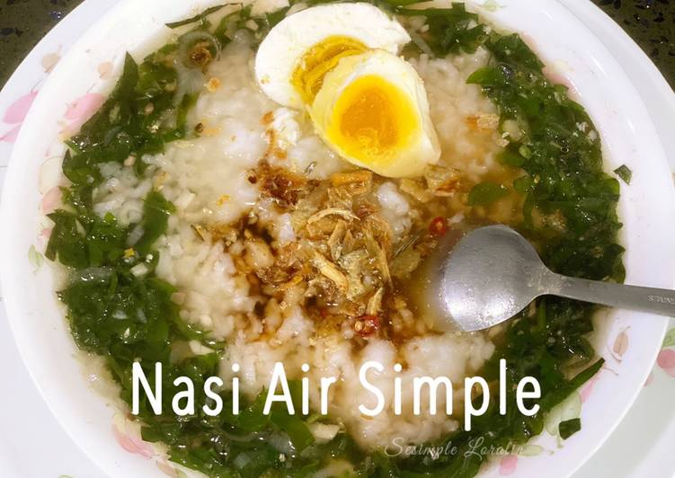Nasi Air Simple - velavinkabakery.com