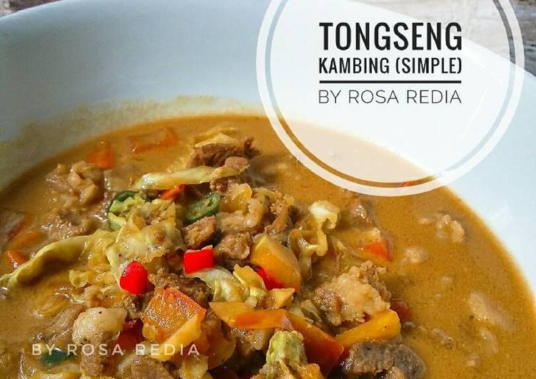 Tongseng Kambing (Versi Simple)