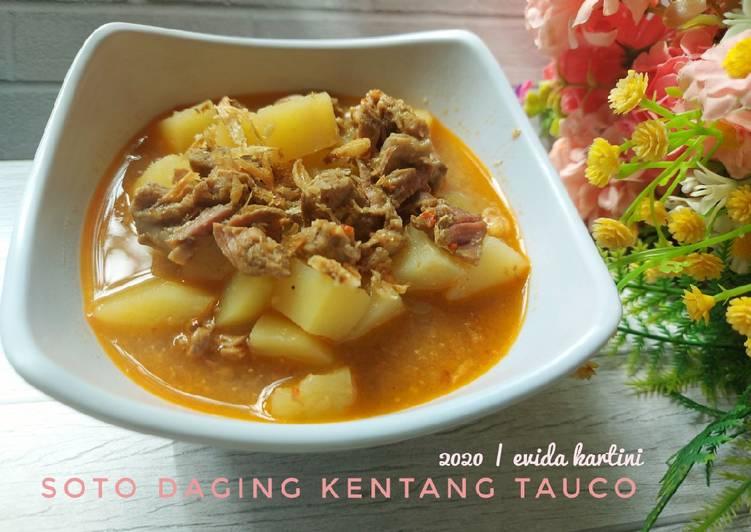 Soto Daging Kentang Tauco