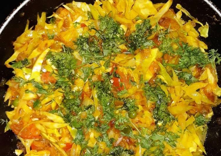 Steps to Prepare Quick Cabbage sabji