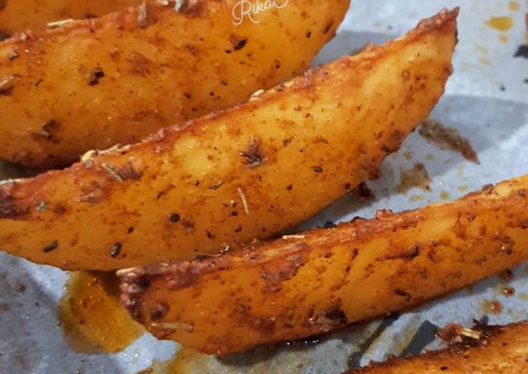 Resep 25 Potato Wedges Western Oleh Dapur Indo Aussie Cookpad
