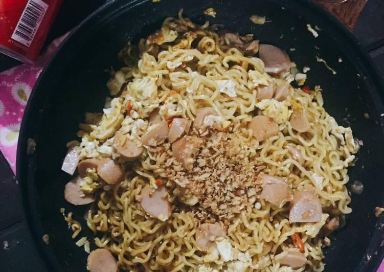 Resep Indomie goreng Beneran ! 😂 Favorit