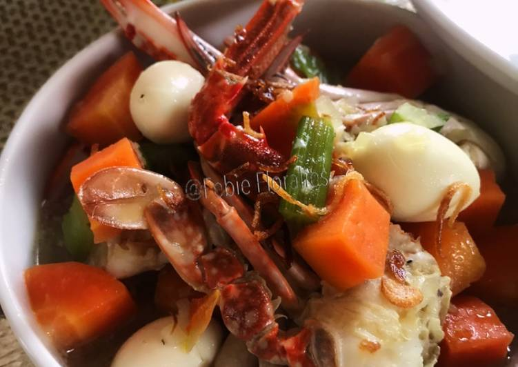 Sup Kepiting, Menu Balita