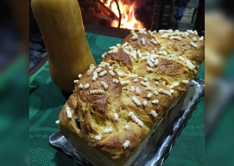 Pan Brioche de Calabaza y Especias
