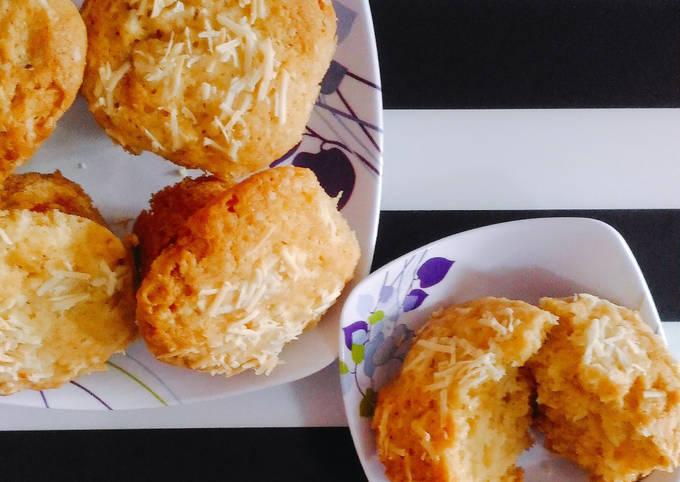 Resep Muffin Keju No Mixer Oleh Keluarga Riyadi Cookpad