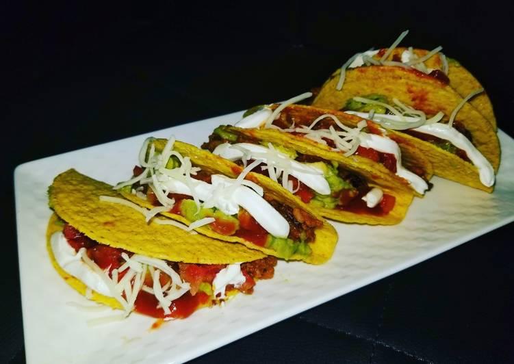 Beefy Bean Tacos