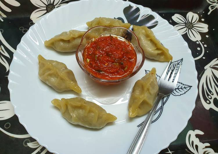 Easiest Way to Prepare Quick Soya and Mixed Veg Momo
