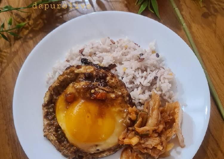 Resep Telur Ceplok Bawang Putih Sederhana Paling Gampang