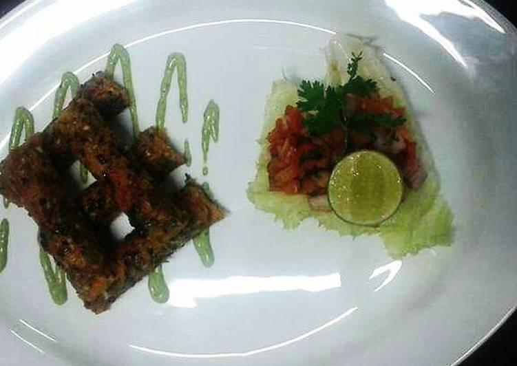 Pav bhaji sheekh kebab