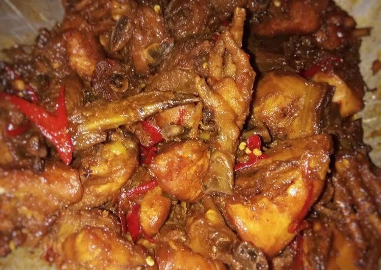 52. Ayam Goreng Kecap Pedas