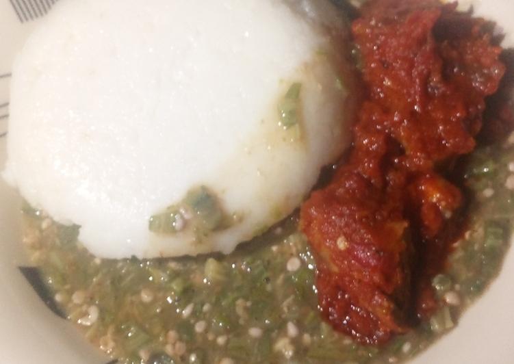 Steps to Make Perfect Okro soup