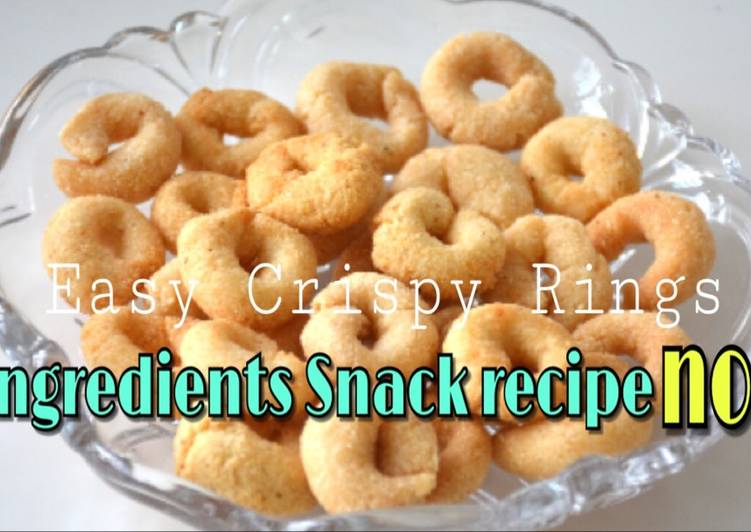 3 ingredients snack recipe no. 2