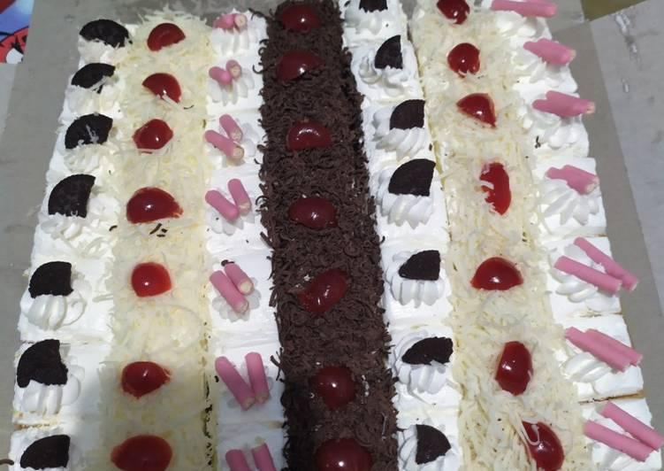 Resep Cake Potong Tarcis Oleh Zie Zhee Chan Cookpad