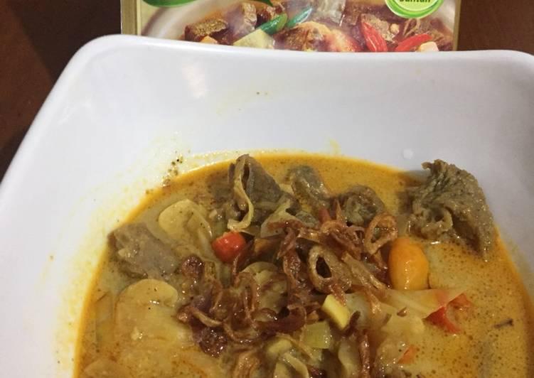 Kari Daging / Tongseng Daging Sapi