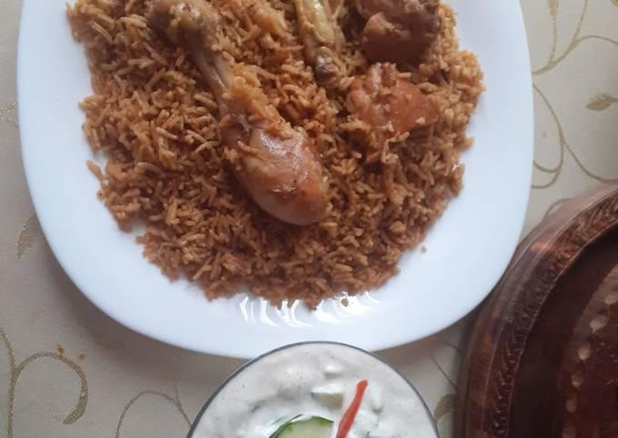 Quick Chicken palao