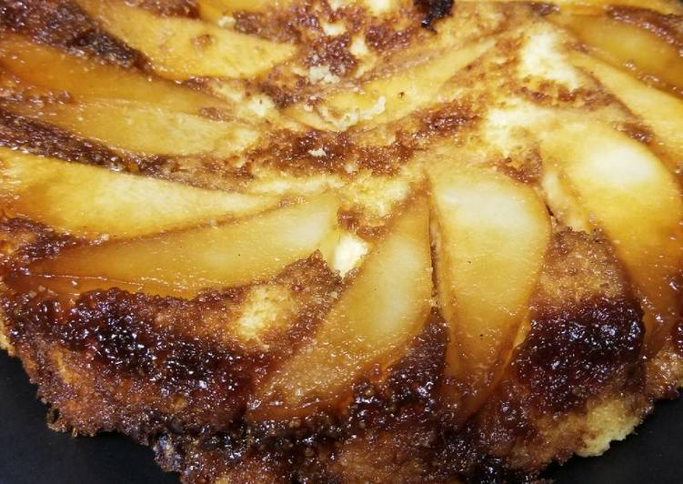 Pear Ginger Coffee Cake