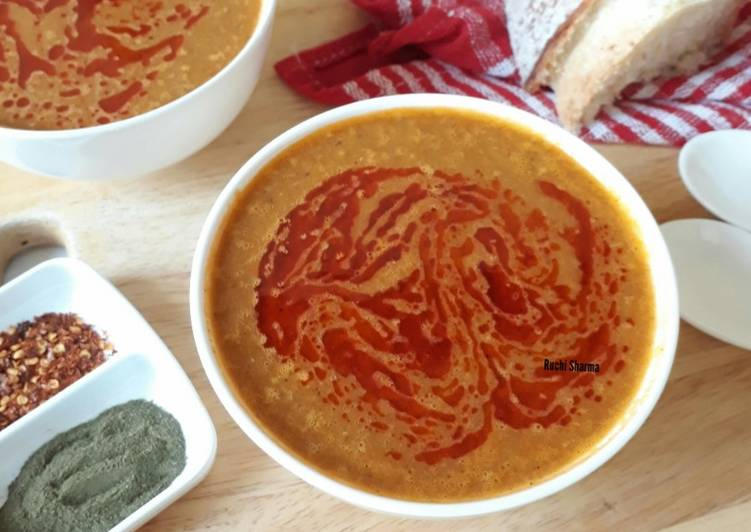 Recipe of Perfect Red Lentil Soup