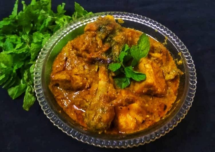 Mint and Curd chicken
