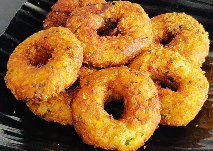 Aloo Donuts | Potato Doughnuts Recipe