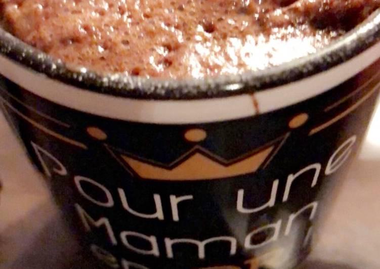 Cake Mug Nutella