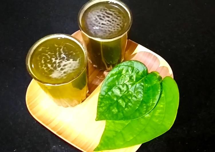 Recipe of Favorite Betel leaf Sarbat
