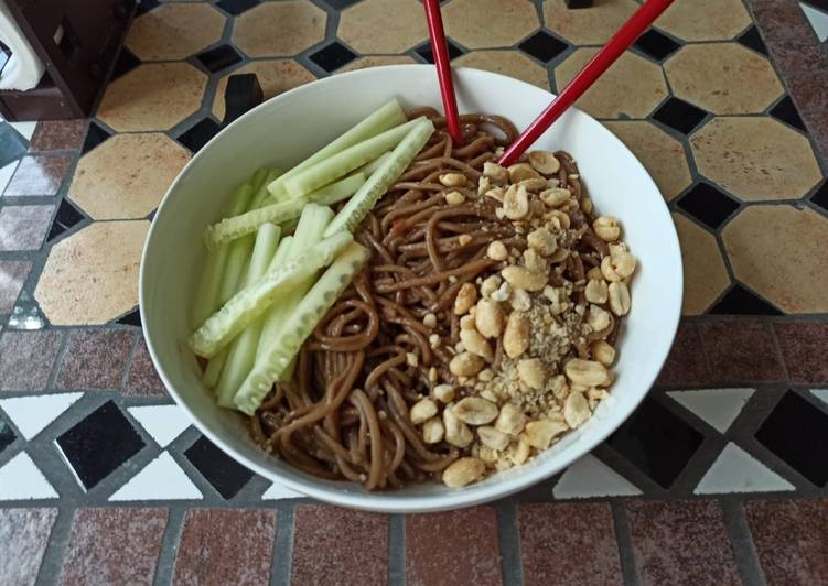 My take on Sesame Noodles