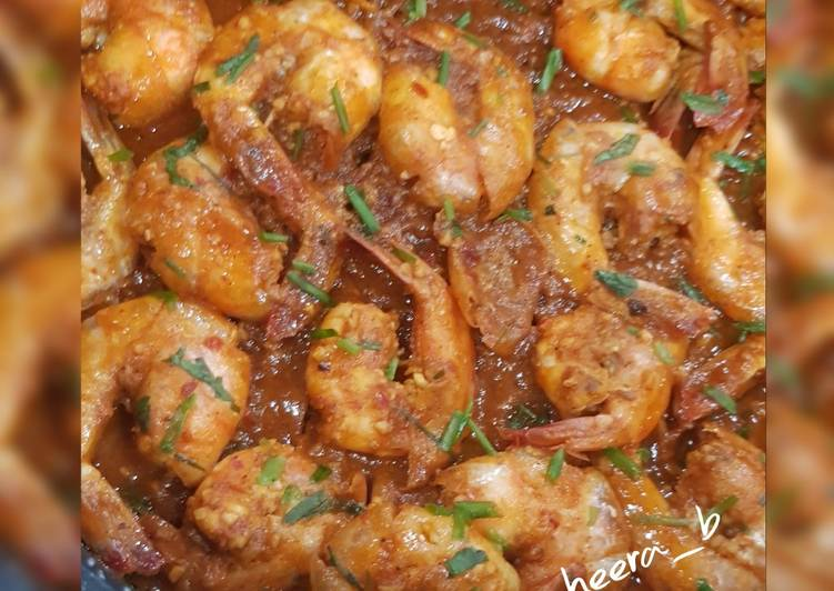 Easiest Way to Make Most Popular Grilled prawns
