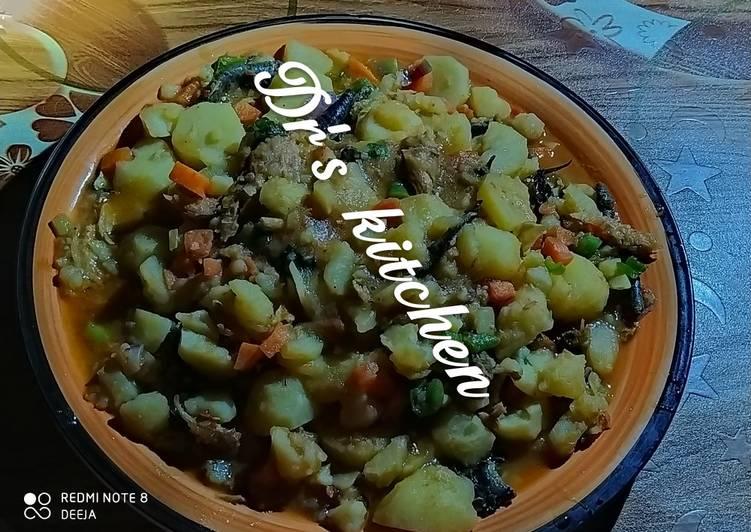 25 Minute Easiest Way to Prepare Winter Irish potatoes veggie porridge