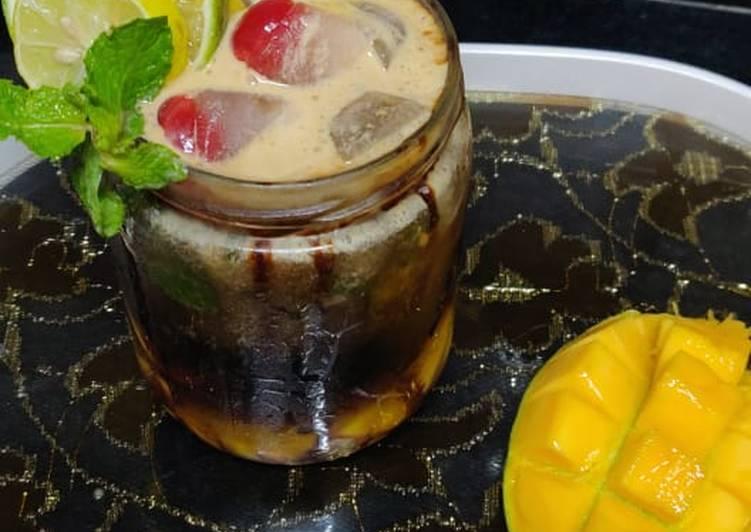 Butterscotch mango mojito
