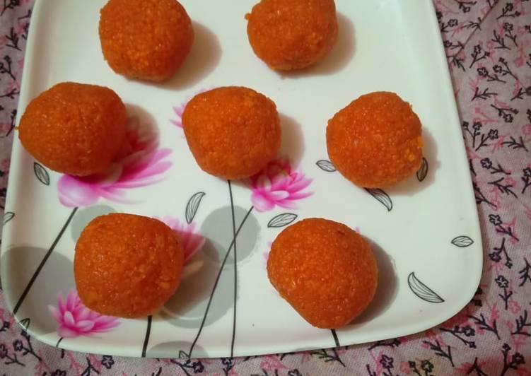 Recipe of Favorite Motichur ke ladoo