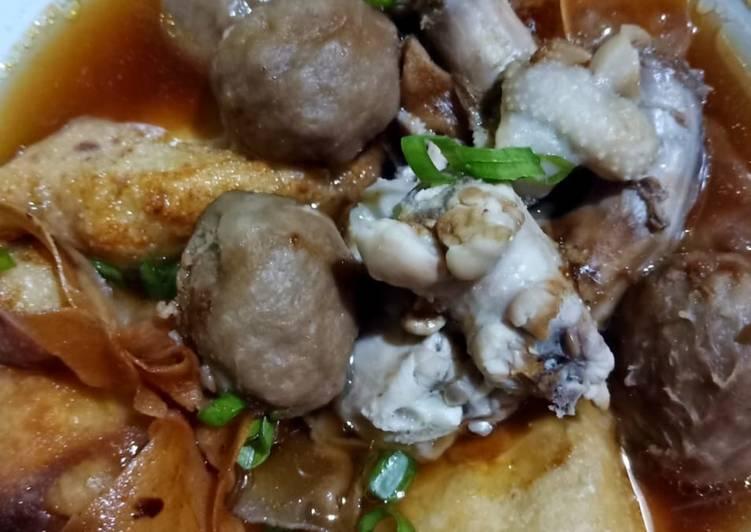 resep cara bikin Batagor kuah bakso