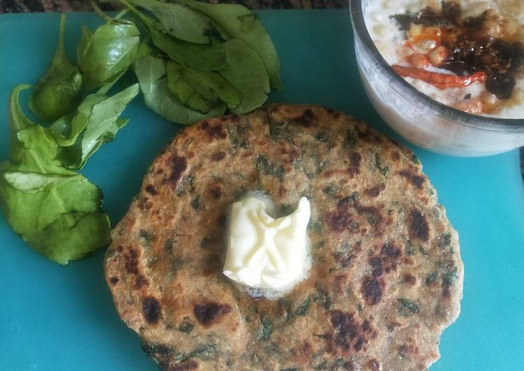 Recipe of Award-winning Spinach Paratha