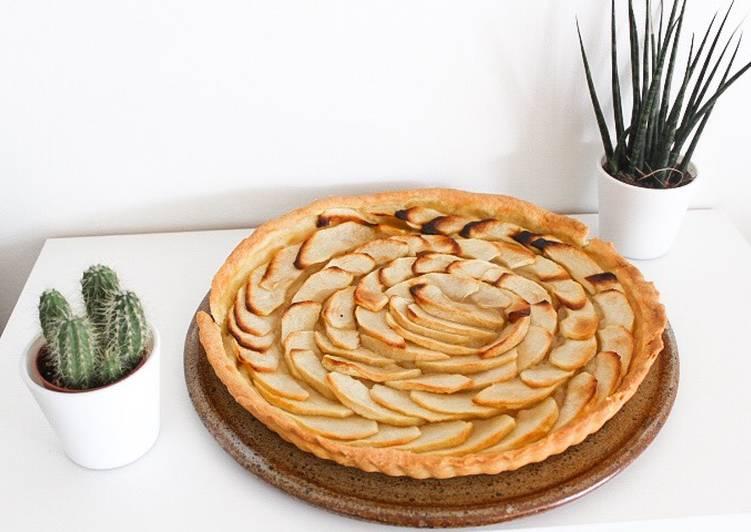 Recette Appétissante Tarte aux pommes 🍏