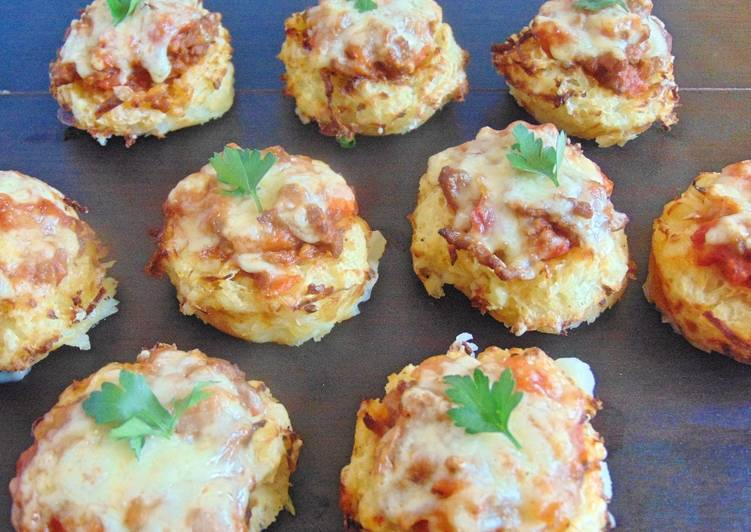 How to Prepare Appetizing Mini Cottage Pies With Potato Nests