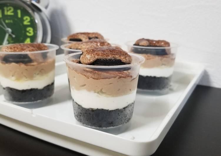 NO BAKE dessert box oreo milo