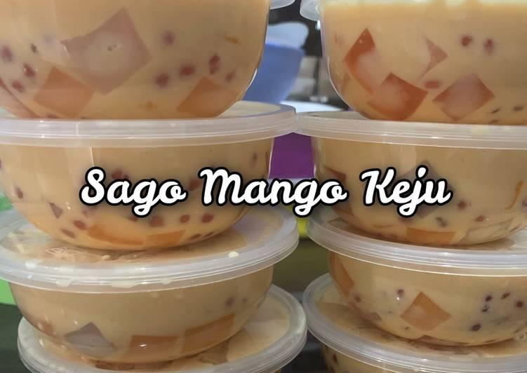 Cara mudah membuat Sago Mango Keju – Ide Jualan Mudah dan Murah
