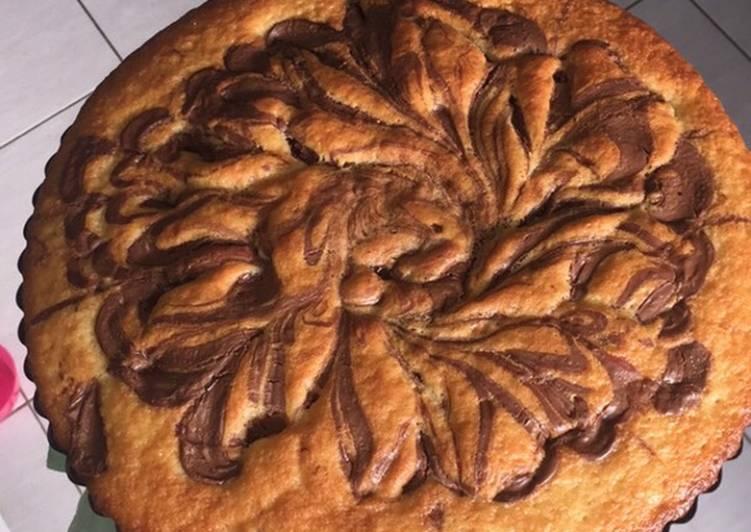 Le moyen le plus simple de Faire Appétissante Gâteau au yaourt et nutella