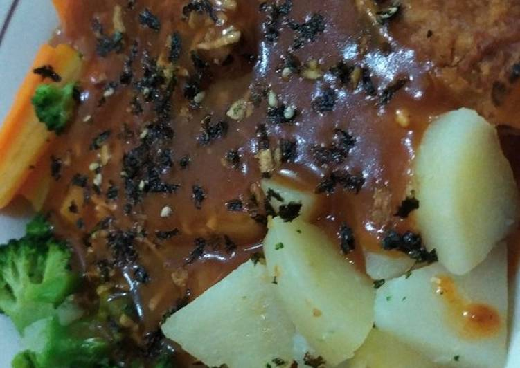 Steik/steak tempe for diet