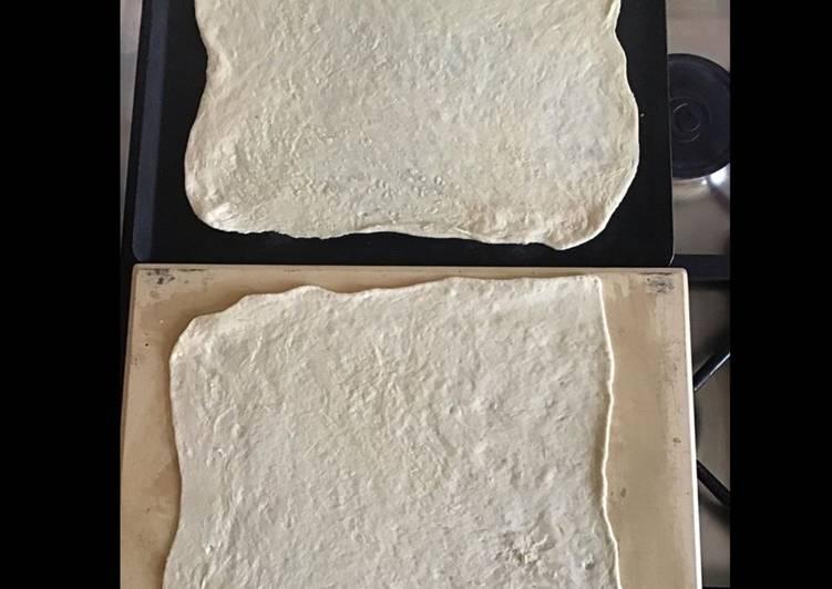 Simple  Pâte à pizza maison