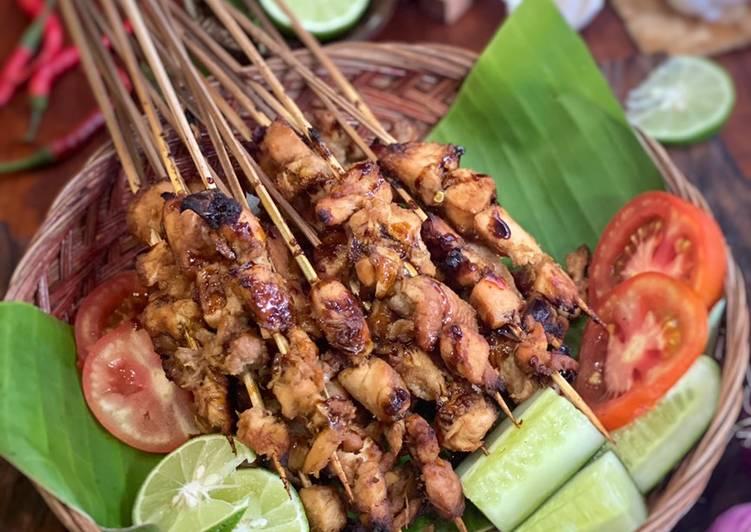 Sate Ayam ala Tiger Kitchen - cookandrecipe.com