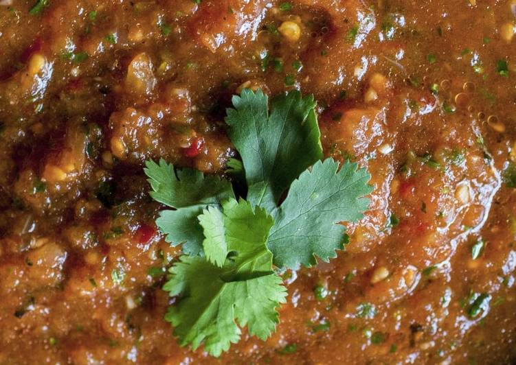 How to Prepare Tasty Fire Roasted Habanero Salsa