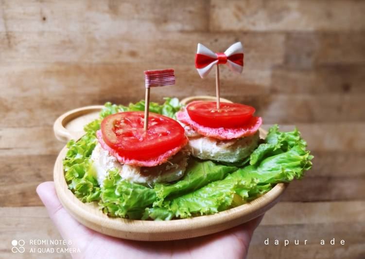Resep Canape Sandwich Merah Putih Oleh Dapur Ade Cookpad