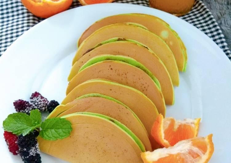 Resep Pancake Lipat Pandan Terenak
