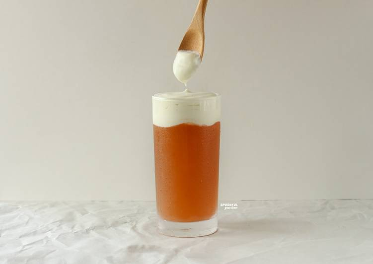 Cheese Tea [Salted Cream Cheese Topping]