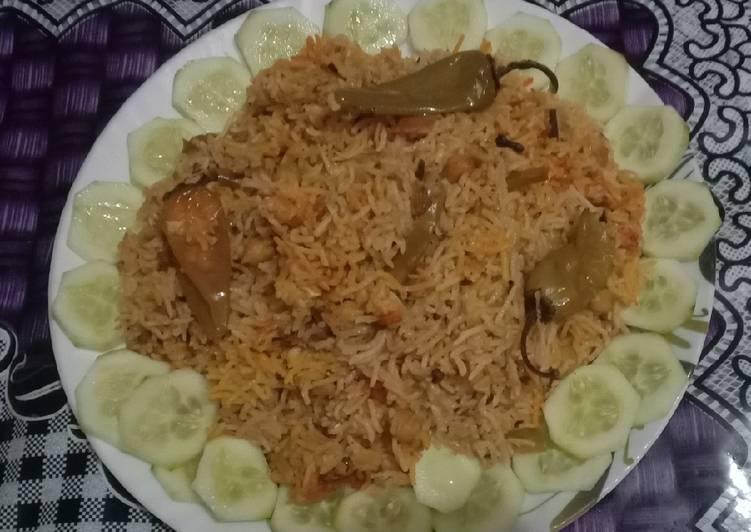 Recipe of Perfect Cholo ki biryani😋